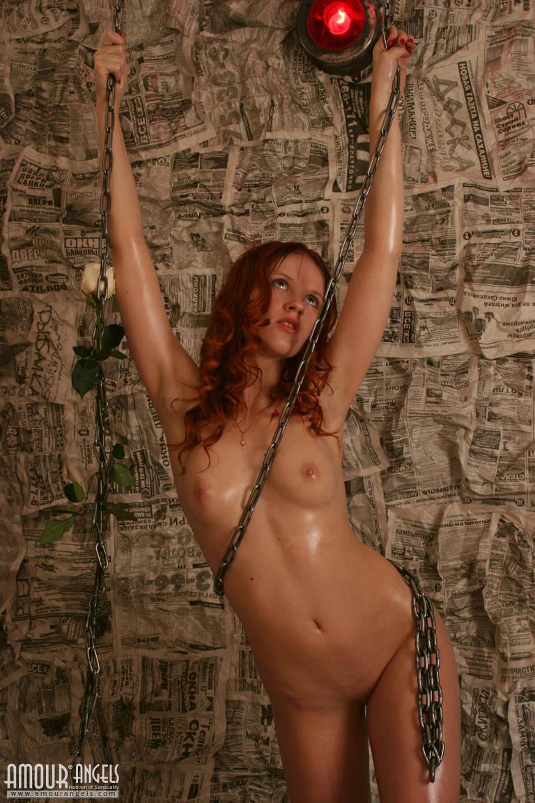 nude tattoo girls red hair