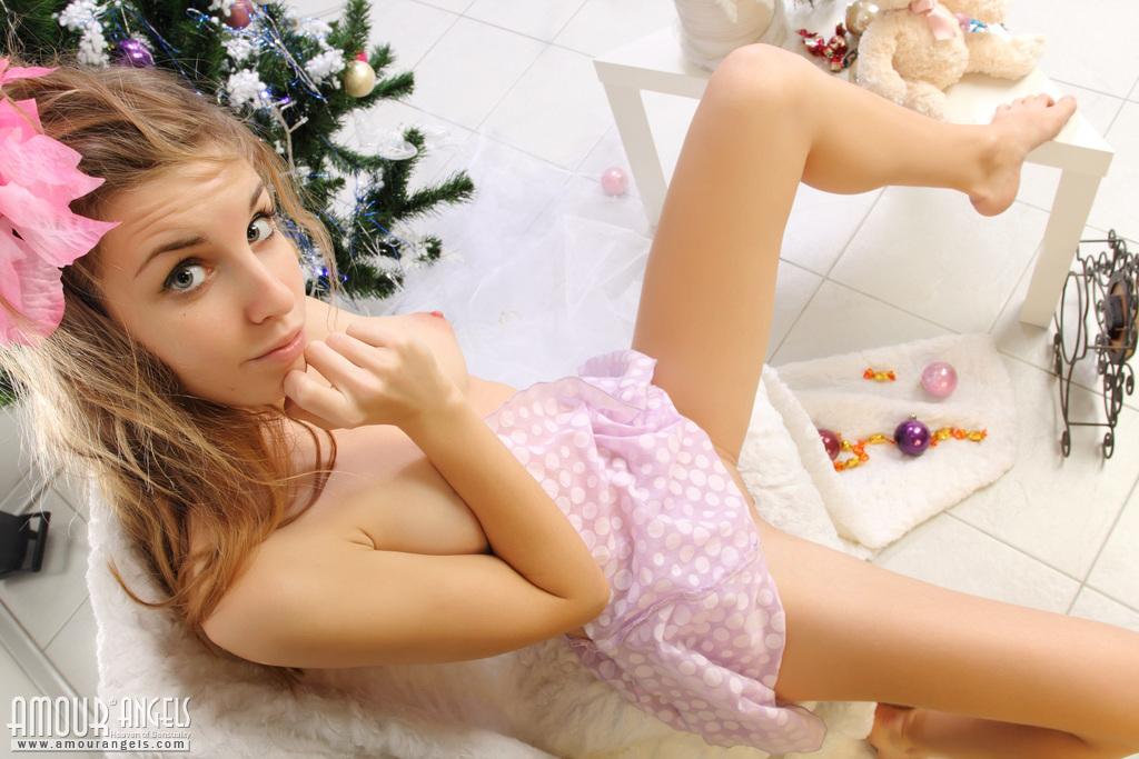 Naked christmas teen pity